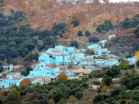 Júzcar, the village of the smurfs