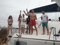 Party on board by Gijón