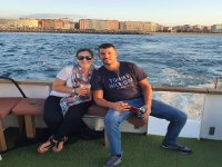Boat trip for couples