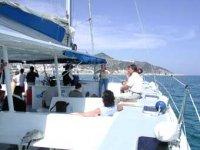 Catamaranes para eventos para grupos hata 125 personas