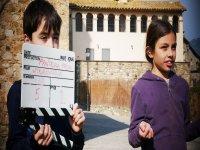 sesion rodaje campamento en Lleida