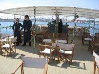 Grandes espacios para eventos en barcos
