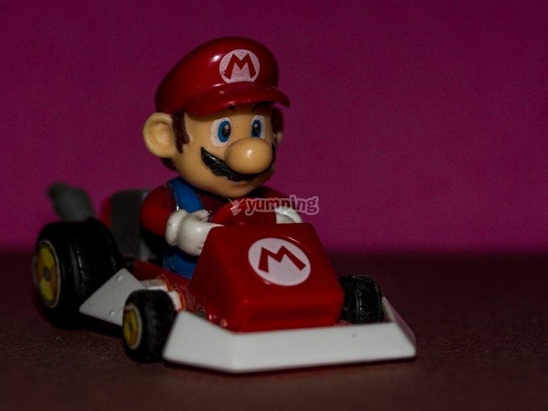 Juego de Mario Kart