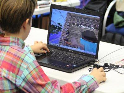 Campamento urbano de Minecraft en Pamplona