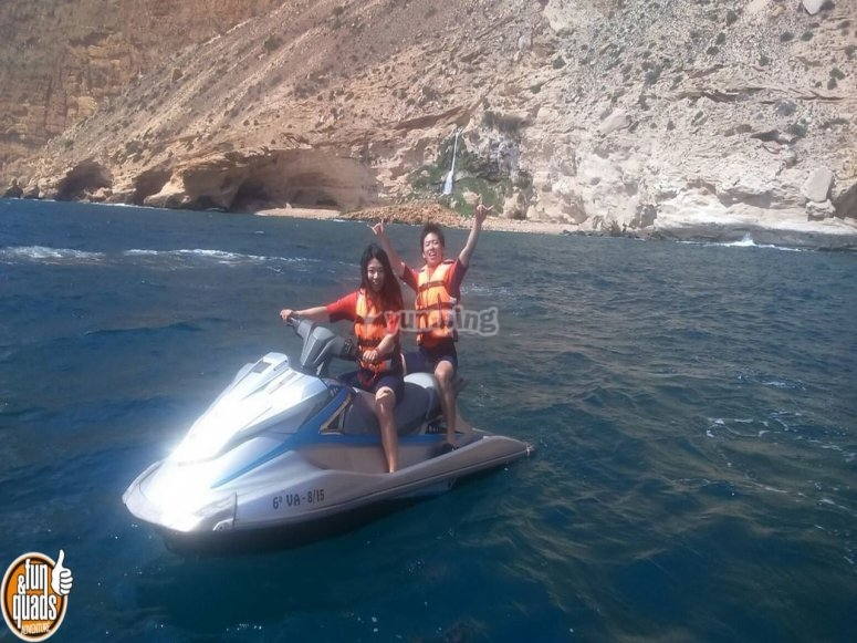Altea and jet ski