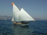 Great Latin sailboat