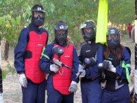 Jugadores cubiertos por las mascaras