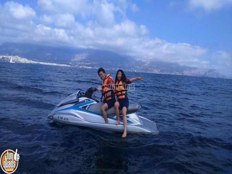 Jet skis in Altea