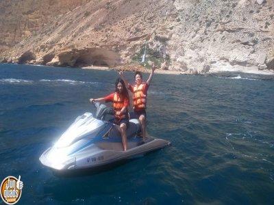 Ruta en moto de agua dos personas en Altea 30 min