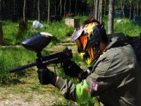 Paintball game in the Bierzo