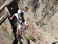 Salto de puenting con foto y vídeo en Yeste