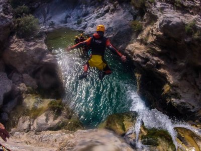 Short Session Canyoning, Rio Verde in Otívar