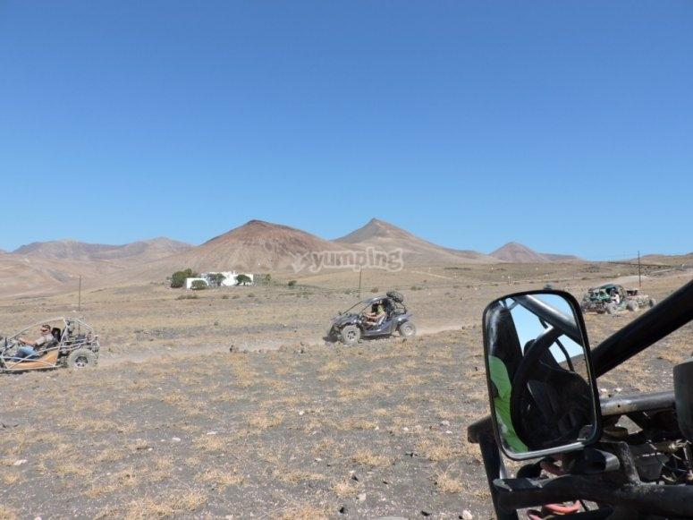 Buggy por caminos deserticos