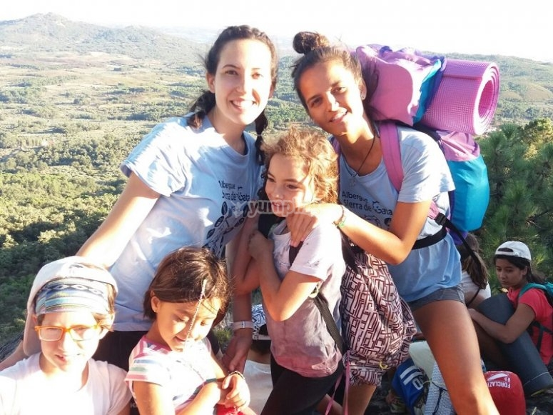 Outdoor games camp of Caceres