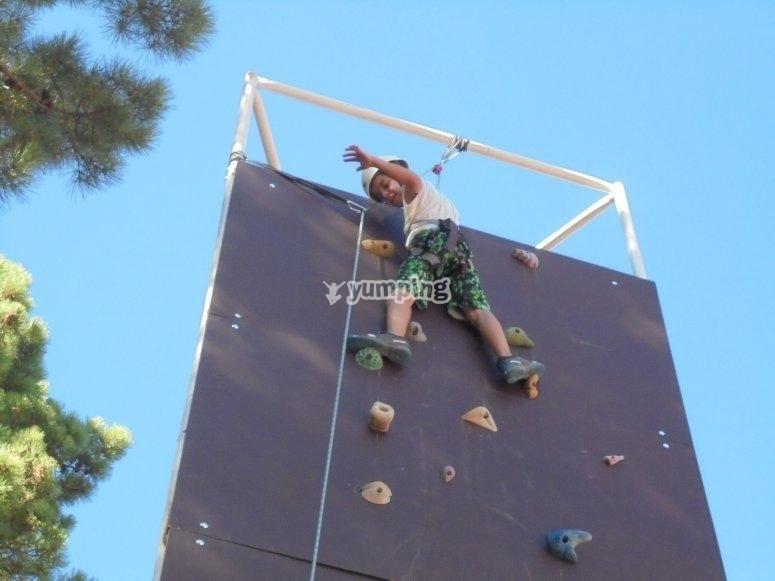 Adventure camp in Caceres