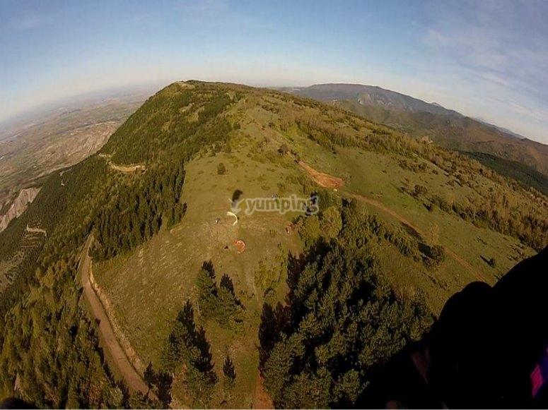 滑翔伞穿越里奥哈