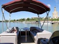 Paseo en barco en el Guadalquivir 3 h
