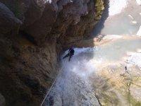 Hacer barranquismo en la Alpujarra