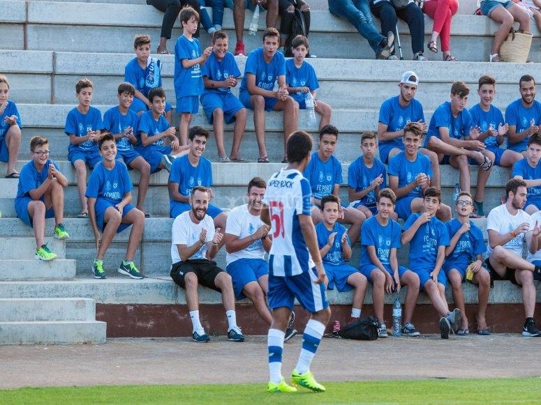 Partido en campus del FC Porto