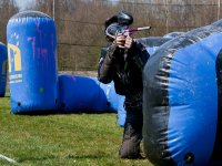 Campo de paintball portatil