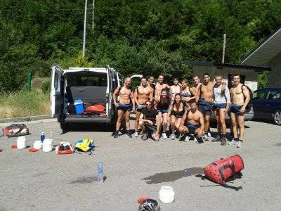 Rafting and cayoning for stag parties