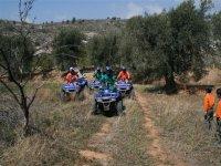 Rutas guiadas para grupos en quad