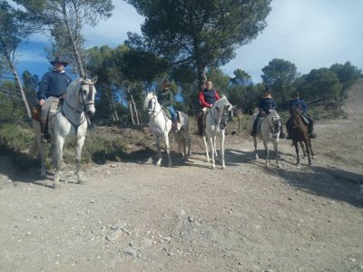 猛犸路线在Laguna de El Padul 1h