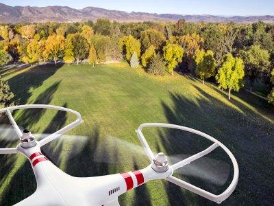 无人驾驶飞机在都灵EASO城市阵营