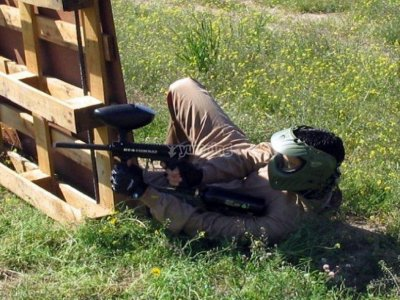 Paintball con barbacoa y barra libre en Talavera