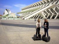 Segway route in the City of the Arts and Sciences