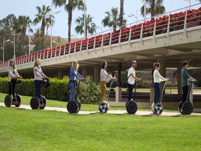 Segway tour through Turia Gardens 2h