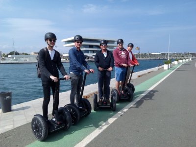 Segway route through Valencia beaches. 1.30h