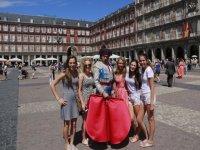 In the Plaza Mayor