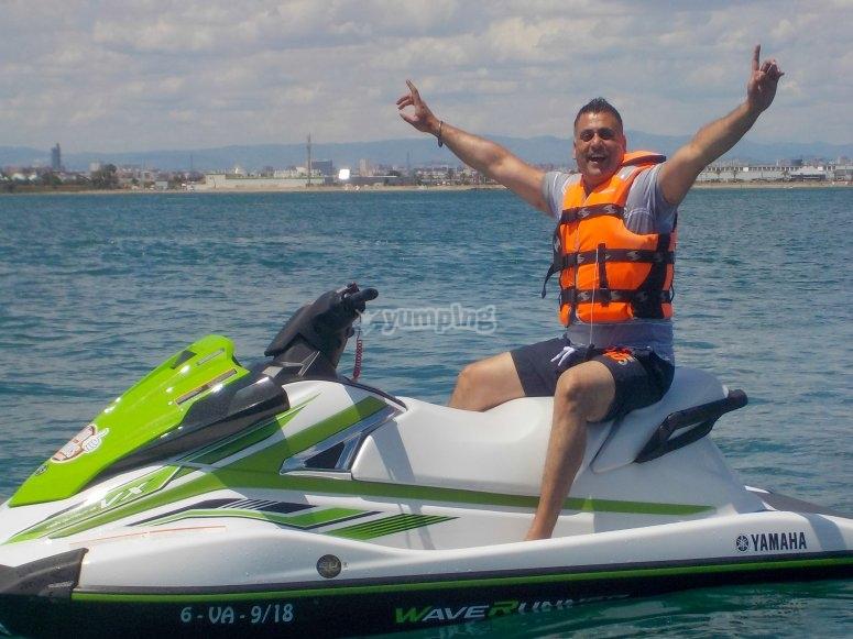 巴伦西亚的水上摩托1