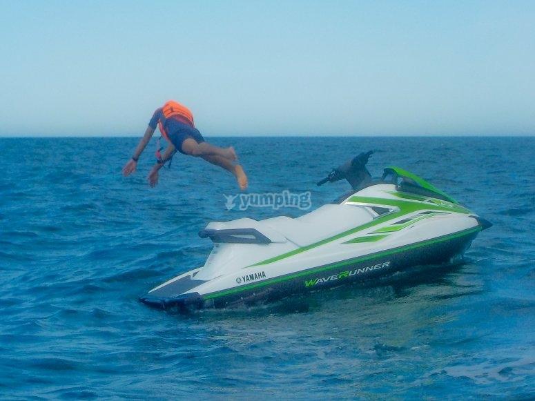 巴伦西亚的水上摩托3