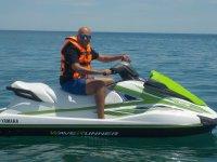 巴伦西亚的水上摩托