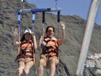 Parascending con niños en Tenerife