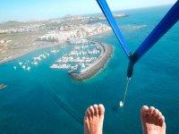 滑伞摩托艇特内里费岛特内里费