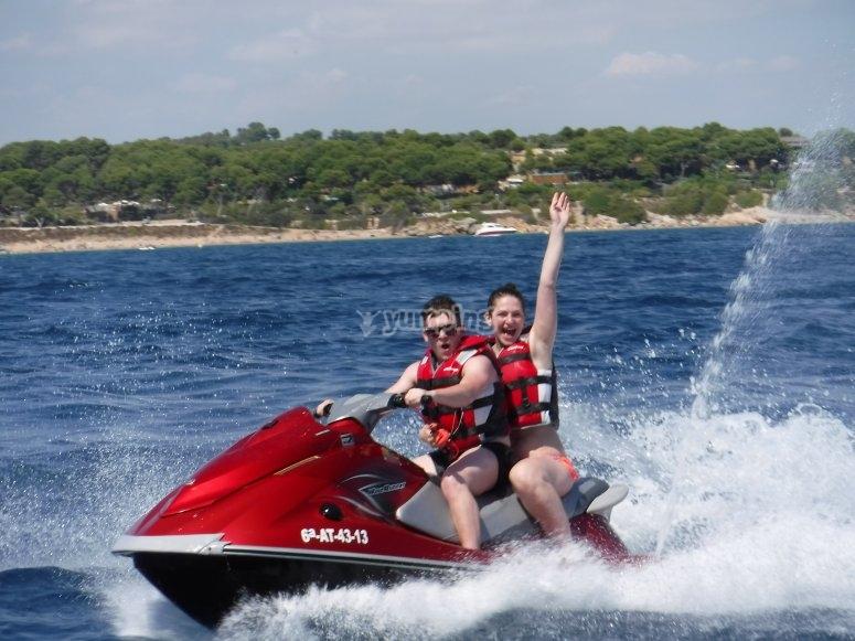 moto d'acqua Tarragona