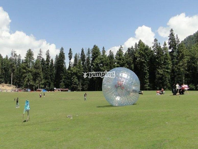 bubble soccer madrid colmenar