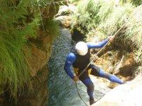 Descens de barrancos en Granada