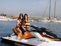 摩托艇在特内里费