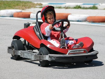 Two-Seater Kart in Málaga - Children