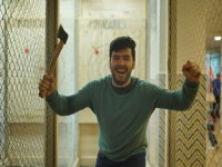 Excited with the ax