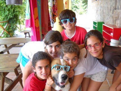 Campamento arte y pintura para niños en Pontevedra