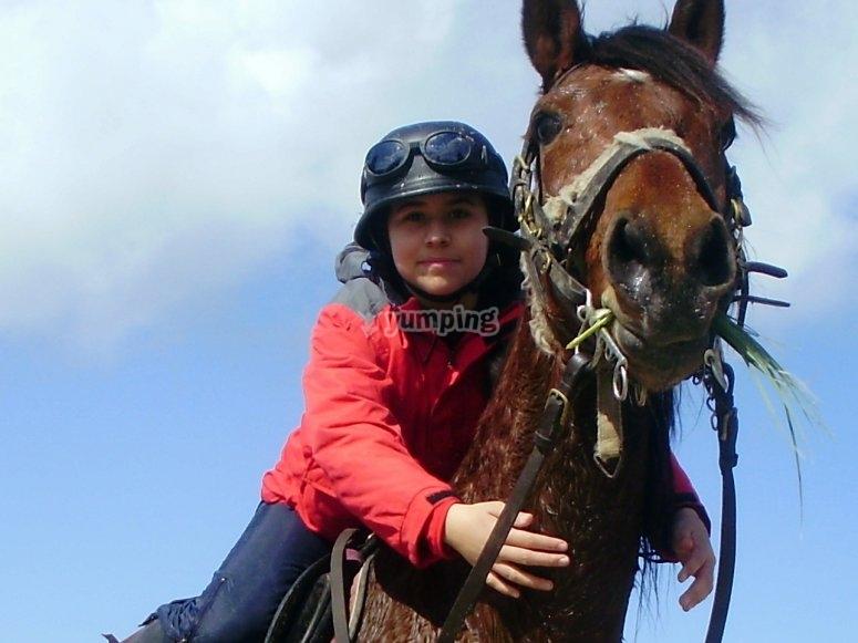 Ti senti come andare a cavallo