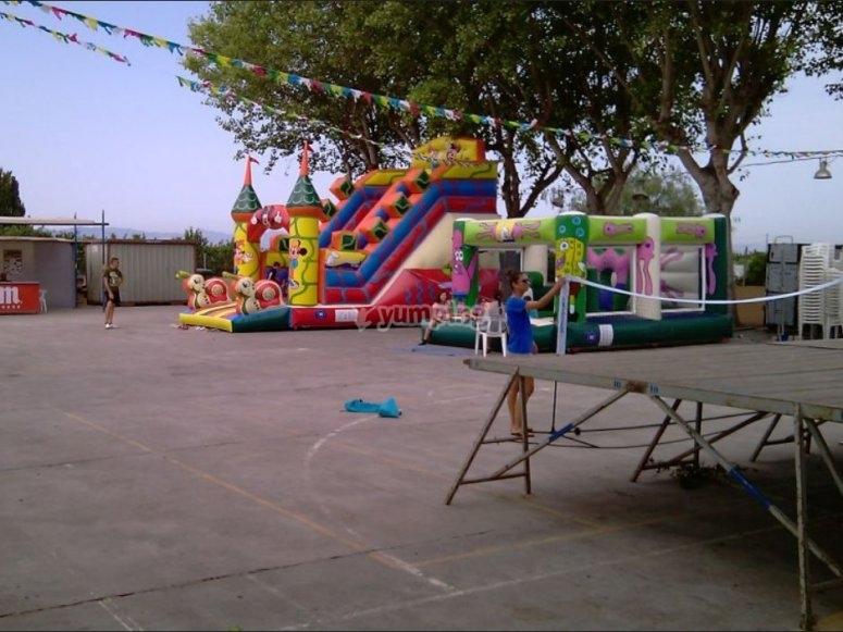 En una fiesta infantil