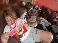 Leyendo en el tiempo libre