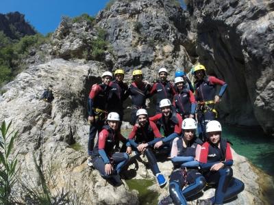 Barranquismo Río Verde especial grupos