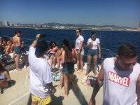 Boat Party with Barbecue in Barcelona for groups